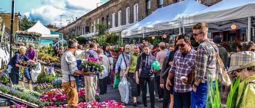 Columbia Lane Flower Market