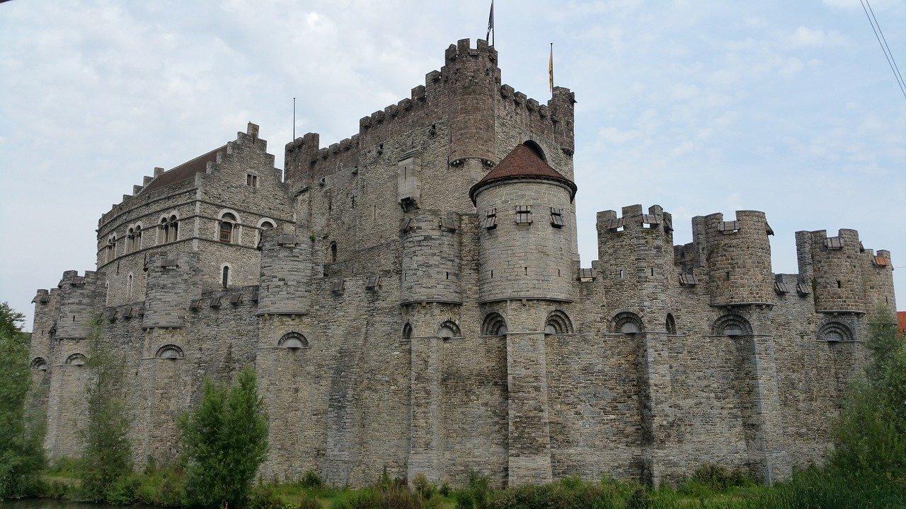 The Gravensteen, medieval castle