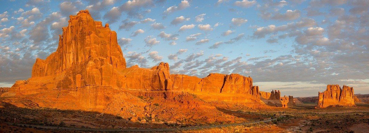 Landscape of Arches National Park