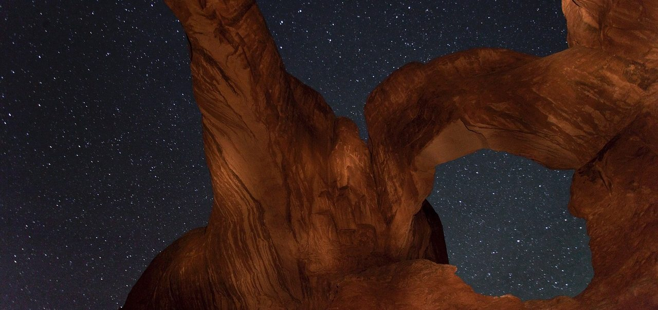 Night Sky at Arches National Park